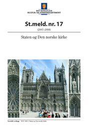 St.melding nr. 17: Staten og Den norske kirke