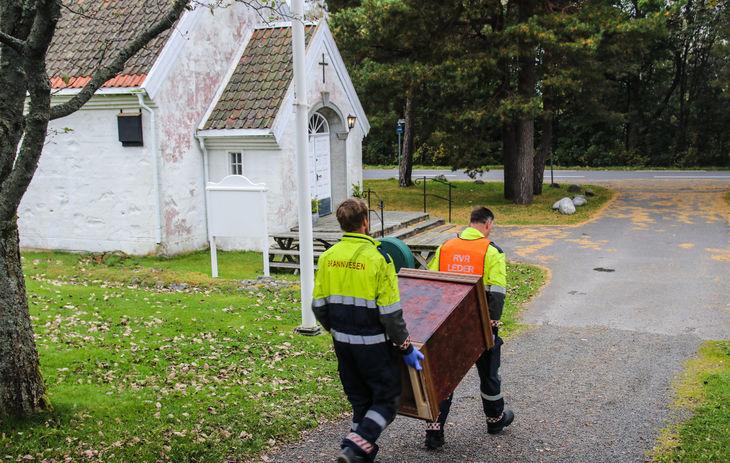 Veileder i beredskapsarbeid  i  kirkelig fellesråd  og menighetsråd